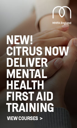 New! Citrus Now Deliver Mental Health First Aid Training. View Courses >
